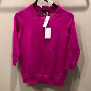 💗NWT J.Crew Hot Pink XS Tippi Sweater